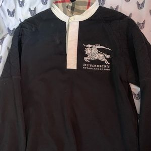 Authentic medium long sleeved Burberry polo